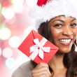 Christmas woman — Stock Photo #5653934
