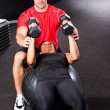 Personal training — Stock Photo