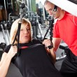 Stock Photo: Personal training