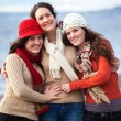 Mother and daughters — Stock Photo