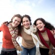 Stock Photo: Mother and daughters