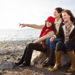 Mother and daughters — Stock Photo #5654258