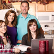 Family at home — Stock Photo #5654397