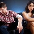 Couple in trouble — Stock Photo #5654615