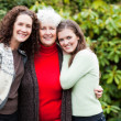 Royalty-Free Stock Photo: Grandmother, daughter and granddaughter