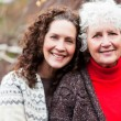 Grandmother with her daughter — Stock Photo #5654917