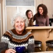 Senior lady at home — Stock Photo #5654927