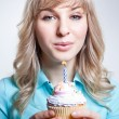 birthday girl — Stock Photo