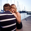 Stockfoto: Romantic couple in love