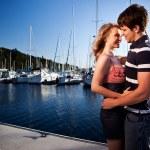 Romantic couple in love — Stock Photo #5655174
