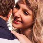 romantisch paar verliefd — Stockfoto