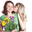 Mother and daughter celebrating mother's day — Stock Photo #5655236