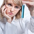 Female scientist — Stock Photo #5655245