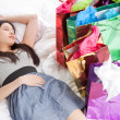 Asian shopping girl — Stock Photo #5655470