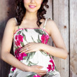 Pregnant asian woman — Stock Photo #5655502