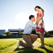 Pregnant couple — Stock Photo #5655519