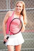 Tennis player — Foto Stock