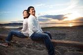 Asian couple — Stock Photo