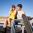 Young couple in love — Stock Photo #5822007