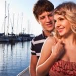 Romantic couple in love — Stock Photo #5822010