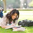 Asian student on campus — Stock Photo #6264802