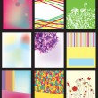 Royalty-Free Stock Vector Image: Abstract backgrounds templates