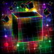 Abstract cube art vector background. - Stock Vector