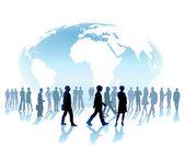 World community — Stock Vector
