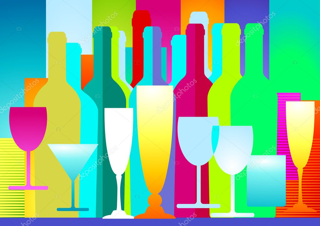 Drinks decoration  Stock Vector #5932936