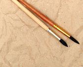 Cepillo de caligrafía — Foto de Stock