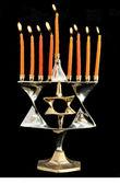Hanukkah Jewish holiday — Stock Photo