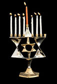 Hanukkah Jewish holiday — Stock Photo