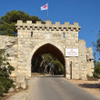Mount Tabor gates all winds — 图库照片