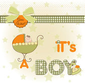 It's a boy — Stock Photo
