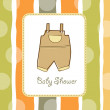 Baby shower invitation - Foto Stock
