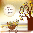 Thank you card — Foto de stock #5563372