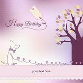 Birthday invitation — Stok fotoğraf