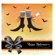 Halloween invitation — Stock Photo