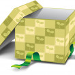 Gift box — Stock Photo #5602566