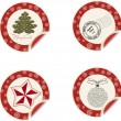 Christmas labels — Stock Photo #5606781