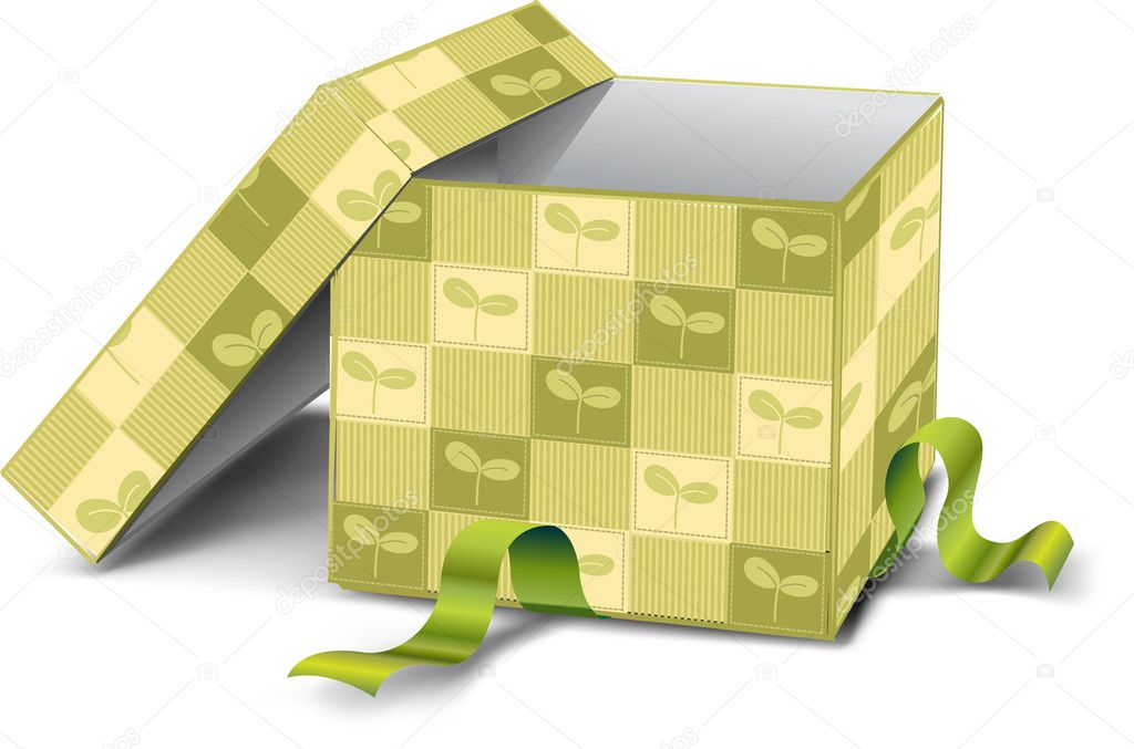 Gift box  — Stock Photo #5602575