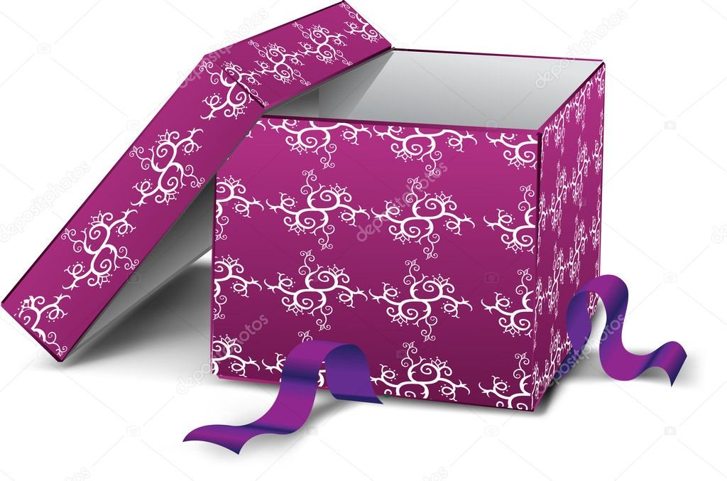 Gift box  — Stock Photo #5602585