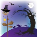 Halloween owl — Stock Photo