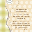 Baby shower and announcement card — Stock Photo #5929202