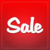 Etichetta di vendita — Foto Stock