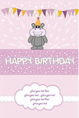 Happy birthday card — Stok fotoğraf
