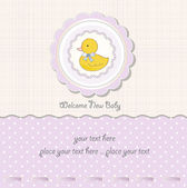 Baby shower card — Stockfoto