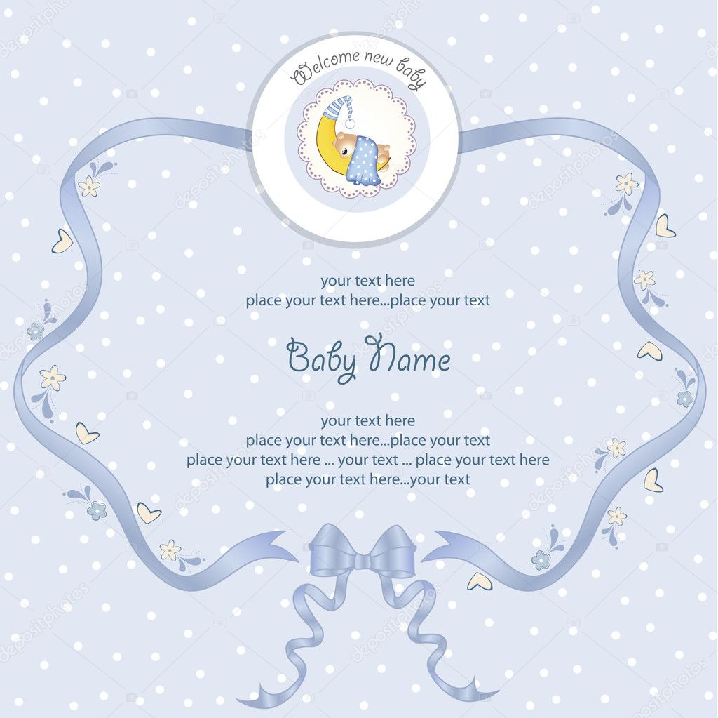 Baby shower card stock photo 169 claudiabalasoiu 6446570