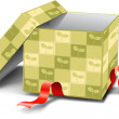 Gift box — Stock Photo #6466330