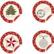 Christmas labels — Stock Photo #6466419
